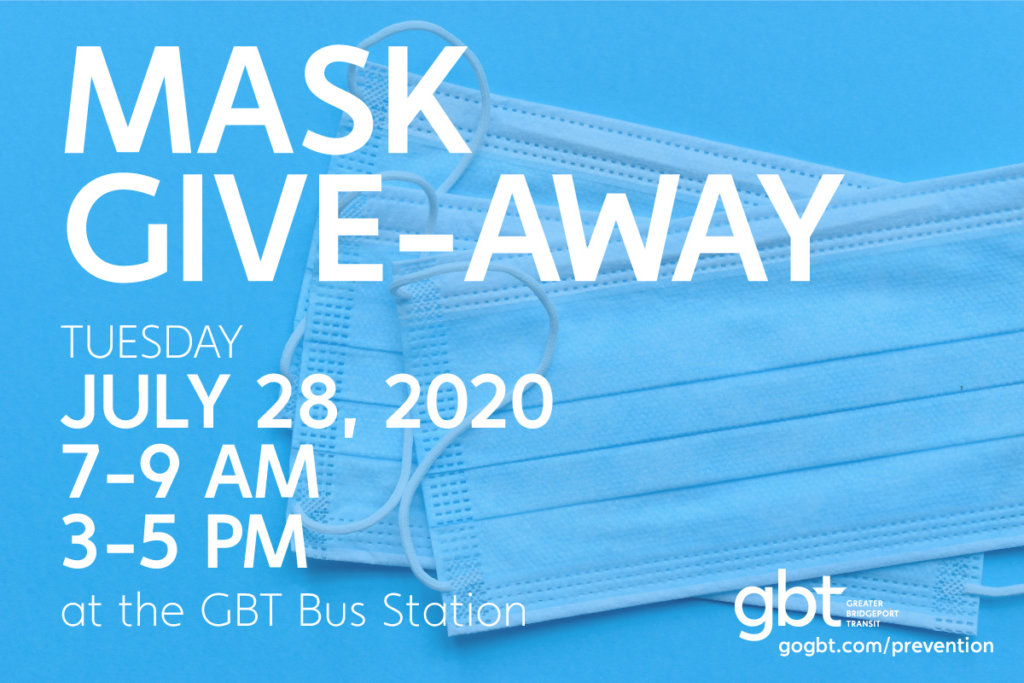 GBT Mask Give-Away - July 28, 2020