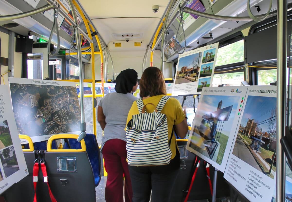 5M+ Bus Rides in Bridgeport